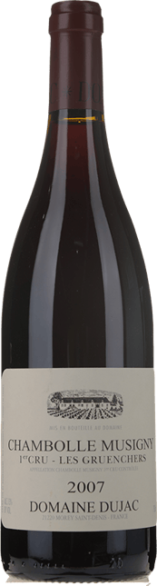 DOMAINE DUJAC Les Gruenchers 1er cru, Chambolle-Musigny 2007