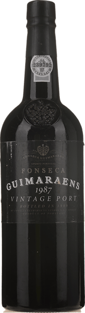 FONSECA'S Guimaraens Vintage Port, Oporto 1987