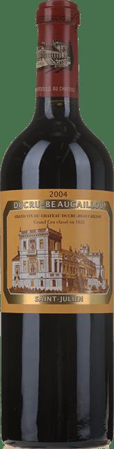 CHATEAU DUCRU-BEAUCAILLOU 2me cru classe, St-Julien 2004