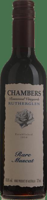 CHAMBERS ROSEWOOD WINERY Rare Muscat, Rutherglen NV