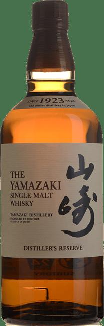 SUNTORY The Yamazaki Distiller's Reserve 43% ABV Single Malt Whisky, Japan NV