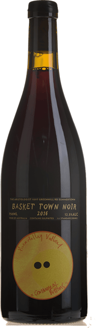 COMMUNE OF BUTTONS Basket Town Pinot Noir, Piccadilly Valley 2016