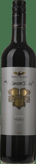 WOLF BLASS WINES Platinum Label Shiraz, Barossa 2005