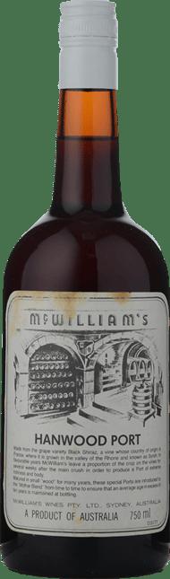 MCWILLIAM'S WINES Hanwood Tawny Port, Riverina NV