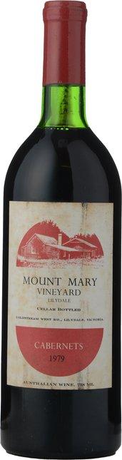 MOUNT MARY Quintet Cabernet Blend, Yarra Valley 1979