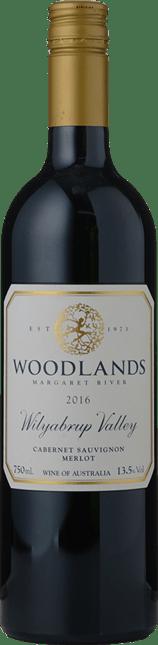 WOODLANDS Cabernet Merlot, Margaret River 2016