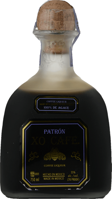 PATRON  XO Cafe Tequila 35% ABV Tequila, Mexico NV