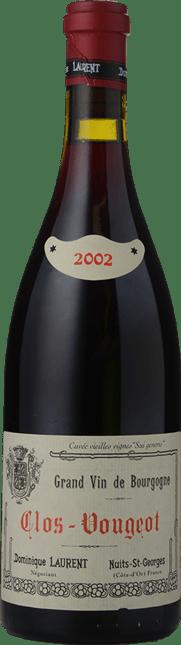 DOMINIQUE LAURENT Sui Generis Vieilles Vignes, Clos Vougeot 2002