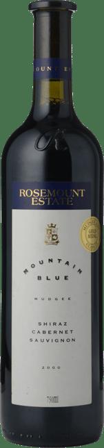 ROSEMOUNT ESTATE Mountain Blue Shiraz Cabernet, Mudgee 2000