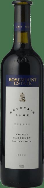 ROSEMOUNT ESTATE Mountain Blue Shiraz Cabernet, Mudgee 2002