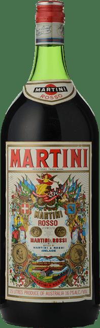 MARTINI Vermouth Rosso, Italy NV