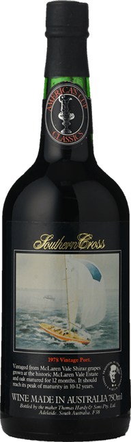 HARDY'S America's Cup Challenger Southern Cross Vintage Port, McLaren Vale 1978