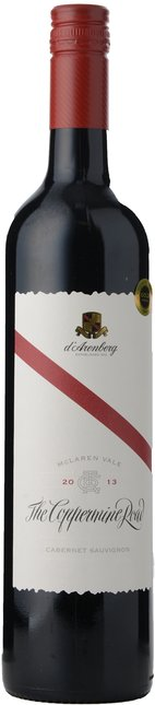 D'ARENBERG WINES The Coppermine Road Cabernet Sauvignon, McLaren Vale 2013