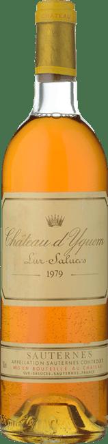 CHATEAU D'YQUEM 1er cru superieur, Sauternes 1979