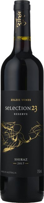 ZILZIE WINES Selection 23 Reserve Shiraz, Murray Darling 2017