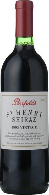 PENFOLDS St. Henri Shiraz, South Australia 1993