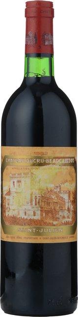 CHATEAU DUCRU-BEAUCAILLOU 2me cru classe, St-Julien 1982