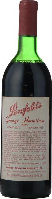 PENFOLDS Bin 95 Grange Shiraz, South Australia 1980