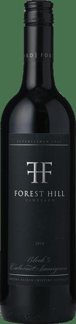 FOREST HILL VINEYARD Block 5 Cabernet Sauvignon, Mount Barker 2014