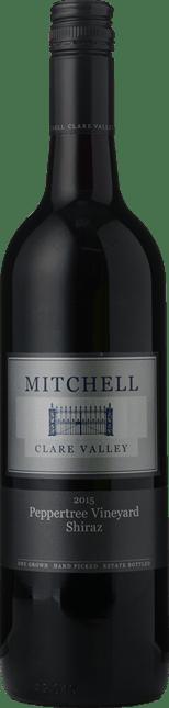 MITCHELL WINERY Peppertree Vineyard Shiraz, Clare Valley 2015