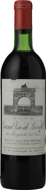 CHATEAU LEOVILLE-LAS-CASES 2me cru classe, St-Julien 1961