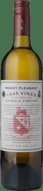 MOUNT PLEASANT 1946 Vines Lovedale Vineyard Semillon, Hunter Valley 2017