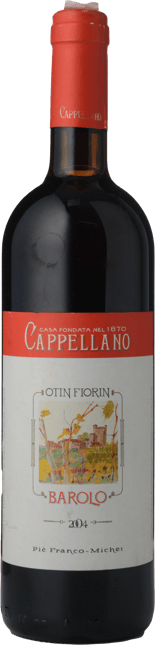 CAPPELLANO Otin Fiorin Pie Franco-Michet , Barolo 2004