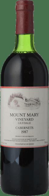 MOUNT MARY Quintet Cabernet Blend, Yarra Valley 1987