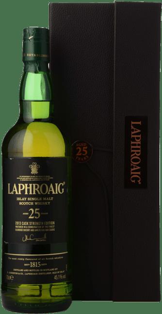 LAPHROAIG Cask Strength 25Y.O. 45.1% ABV , Islay NV