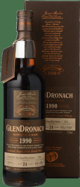 THE GLENDRONACH Distilled 1990 24 Y.O. 51.3% ABV, The Highlands 1990