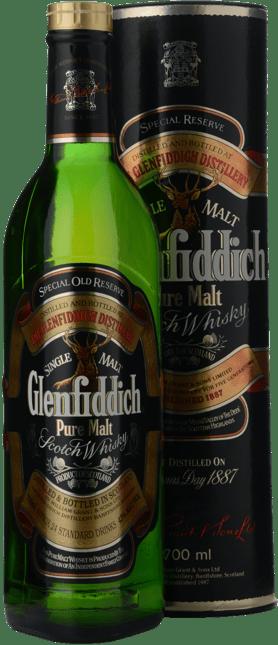 GLENFIDDICH Special Reserve Single Malt Whisky 43% ABV, Scotland NV