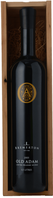 BREMERTON WINES Old Adam Shiraz, Langhorne Creek 2005