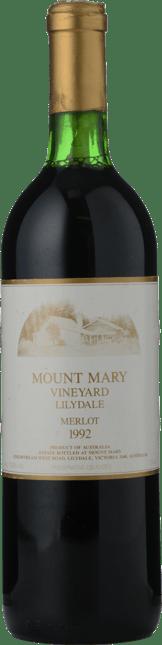 MOUNT MARY Merlot, Yarra Valley 1992