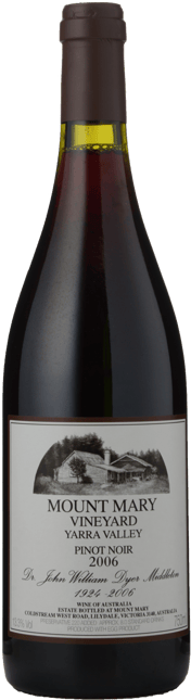 MOUNT MARY Pinot Noir, Yarra Valley 2006