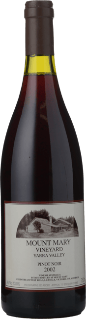 MOUNT MARY Pinot Noir, Yarra Valley 2002
