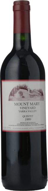 MOUNT MARY Quintet Cabernet Blend, Yarra Valley 1999