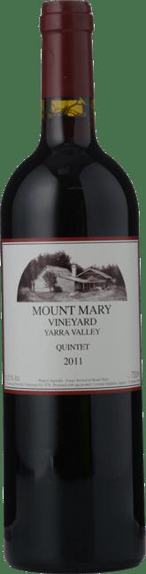 MOUNT MARY Quintet Cabernet Blend, Yarra Valley 2011