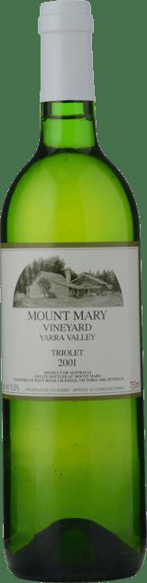 MOUNT MARY Triolet Semillon Sauvignon Blanc Muscadelle, Yarra Valley 2001