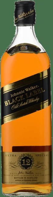 JOHNNIE WALKER Extra Special Black Label 43% ABV, Scotland NV