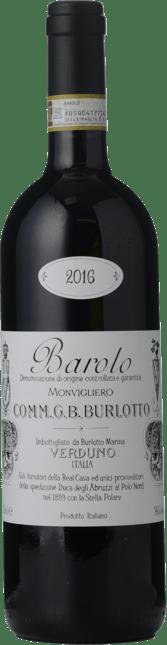 COMM G B BURLOTTO Monvigliero, Barolo DOCG 2016