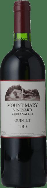 MOUNT MARY Quintet Cabernet Blend, Yarra Valley 2010