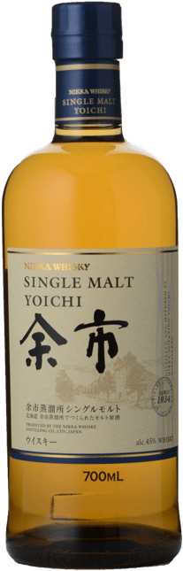 THE NIKKA WHISKY DISTILLING CO Yoichi Single Malt 45% ABV Whisky, Japan NV