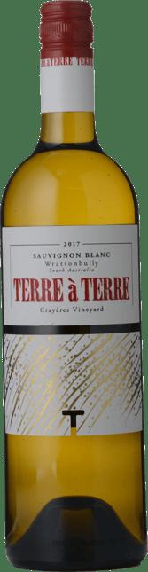 TERRE A TERRE Crayeres Vineyard Sauvignon Blanc, Wrattonbully 2017
