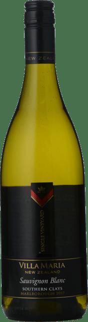 VILLA MARIA Single Vineyard Southern Clays Sauvignon Blanc, Marlborough 2017