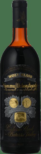 WOLF BLASS WINES Black Label, South Australia 1975