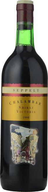 SEPPELT Chalambar Shiraz, Victoria 1998