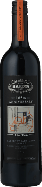 HARDY'S 165th Anniversary Shiraz Cabernet, McLaren Vale-Coonawarra, Frankland River, Great Southern 2014