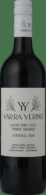 YARRA YERING Light Dry Red Pinot Shiraz, Yarra Valley 2016