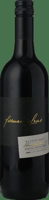 FREEMAN & LANE Premium Blend Merlot Petit Verdot, Mount Lofty Ranges 2011