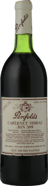 PENFOLDS Bin 389 Cabernet Shiraz, South Australia 1980